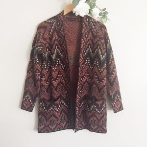 Lucky Brand Cardigan Sweater Size XS